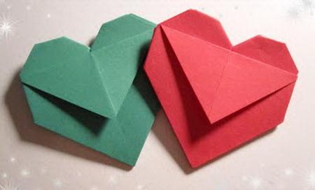 сердце оригами из бумаги,как сделать сердце оригами,оригами сердечко из бумаги,бумажные сердечки,идеи ко дню святого валентина/4395419_origami_heart4 (450x272, 32Kb)