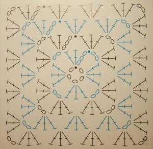 классический бабушкин квадрат (300x292, 29Kb)