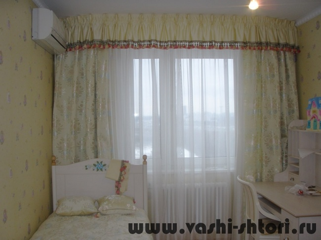 шторы для детской спальни11 (650x487, 82Kb)