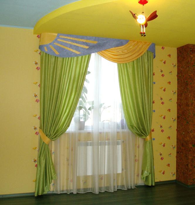 шторы для детской спальни13 (665x700, 544Kb)