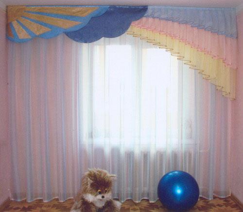 шторы для детской спальни16 (500x438, 53Kb)