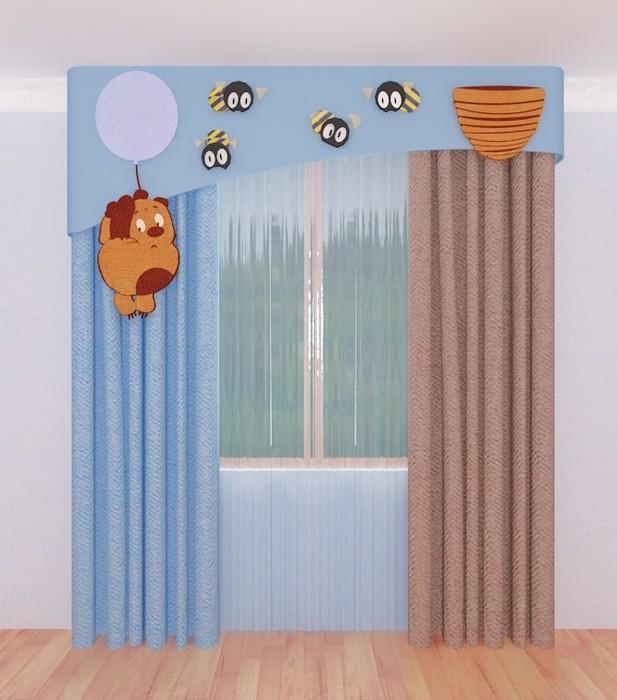 шторы для детской спальни20 (617x700, 83Kb)