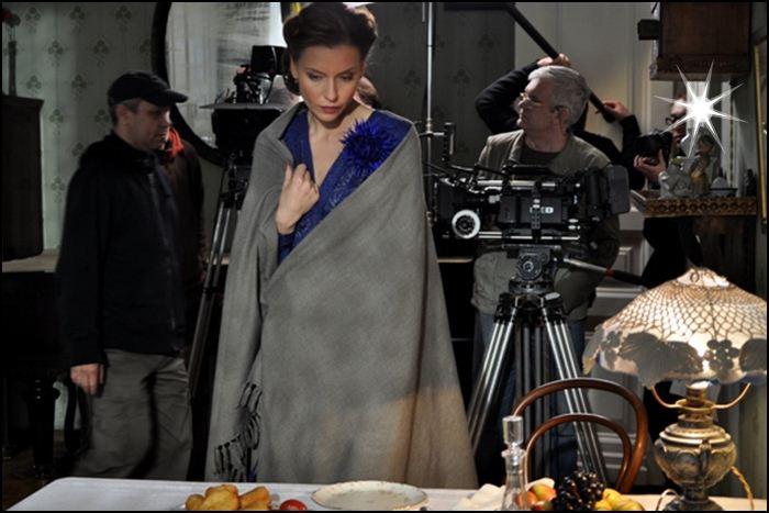 кадр со съемок фильма