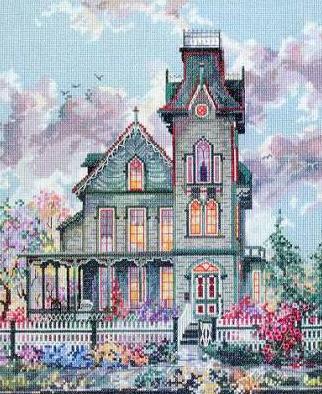 Викторианский дом.