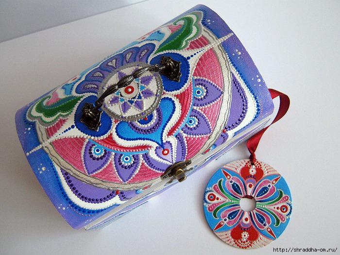мастер-класс росписи акрилом сундука, автор Shraddha 1 (700x525, 280Kb)