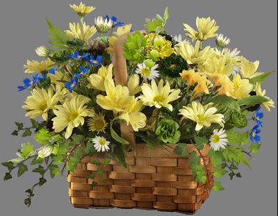 с днем рожд корзина цветов (400x311, 230Kb)