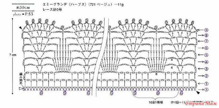 схема для карамельного болеро (699x345, 91Kb)