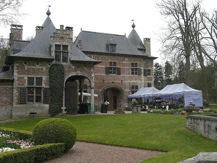 замок Гроот Бейгарден (Groot Bijgaarden) часть 2 62113