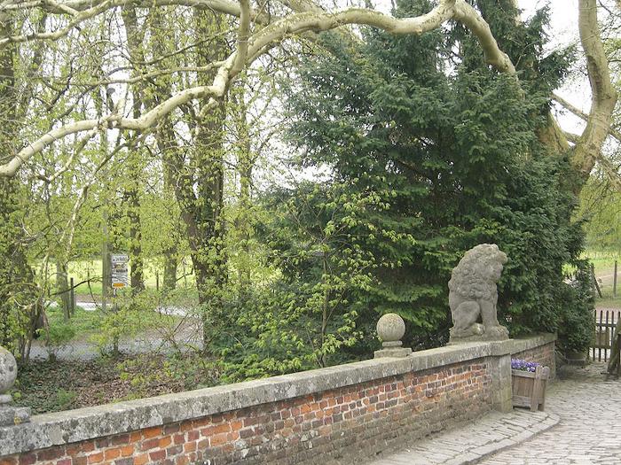 замок Гроот Бейгарден (Groot Bijgaarden) часть 2 53114