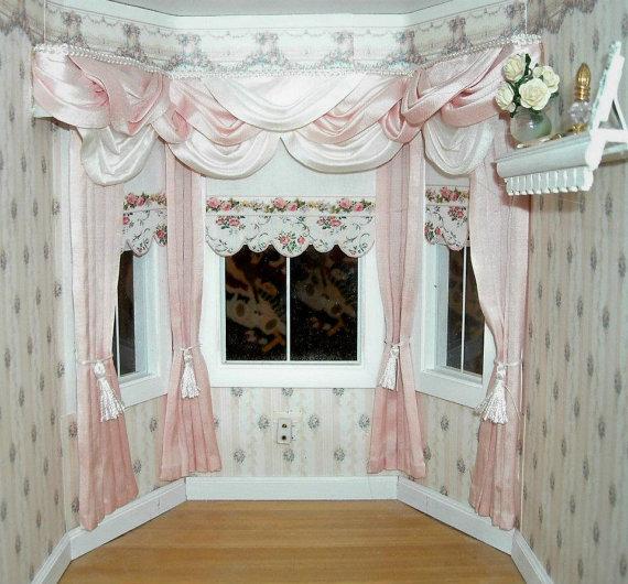 Как сделать шторы для кукольного домика