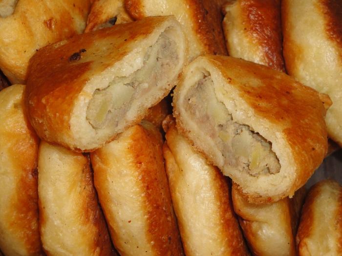 Рецепты пышных пирожков фото