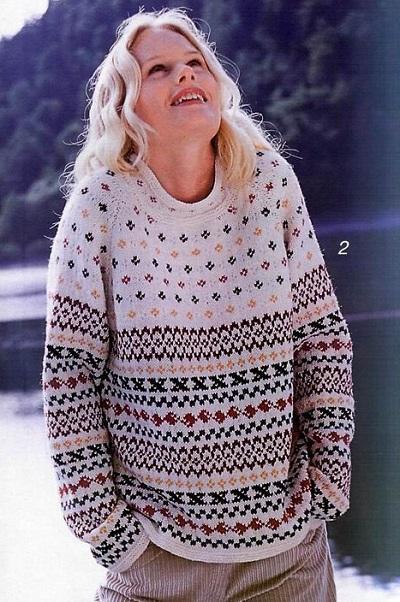 скандинавский свитер или