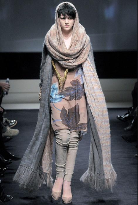Стильный шарф 4