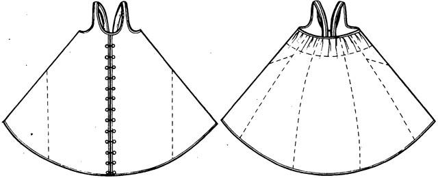 2. Косоклинный сарафан.