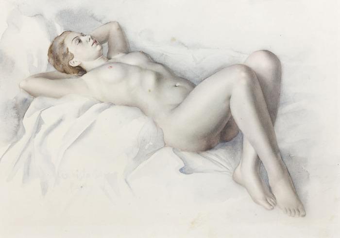 Femme nue allongée (700x489, 51Kb)