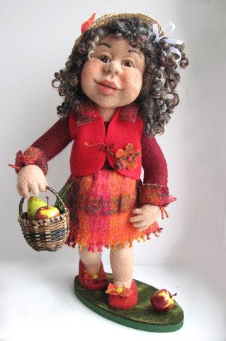кукла с яблоками (319x480, 68Kb)