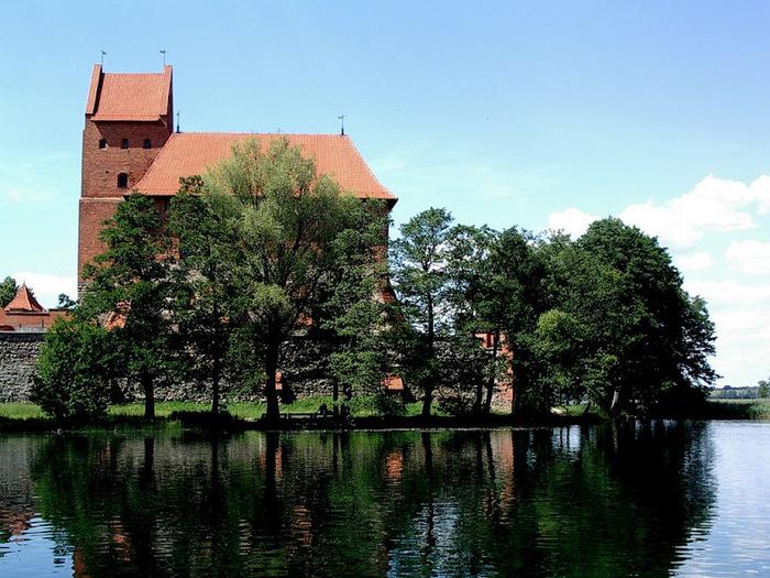 Тракайский замок недалеко от Вильнюса 88057