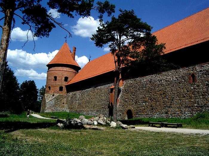 Тракайский замок недалеко от Вильнюса 86703