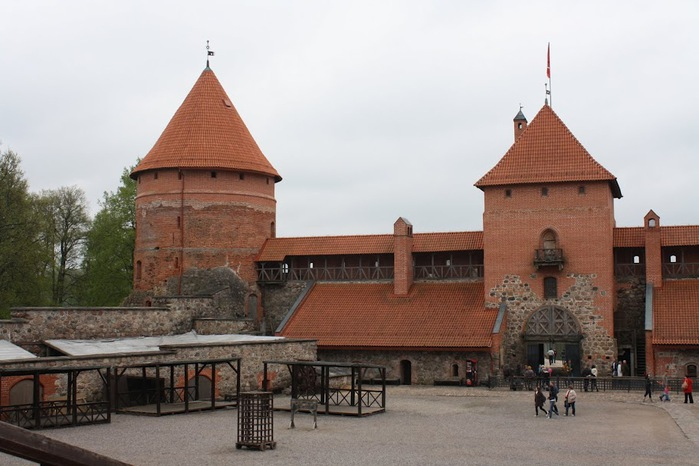 Тракайский замок недалеко от Вильнюса 83780