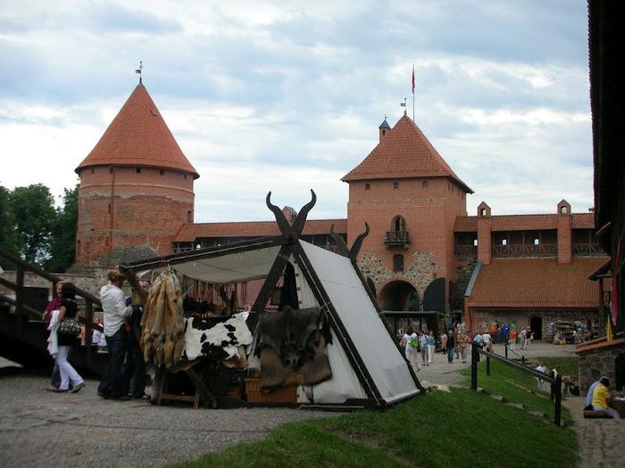 Тракайский замок недалеко от Вильнюса 23880
