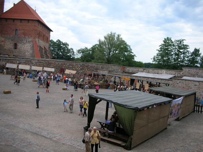 Тракайский замок недалеко от Вильнюса 31511