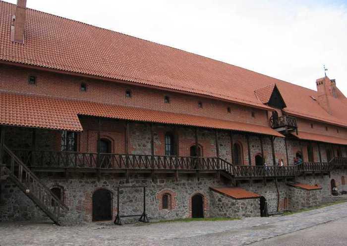 Тракайский замок недалеко от Вильнюса 78370