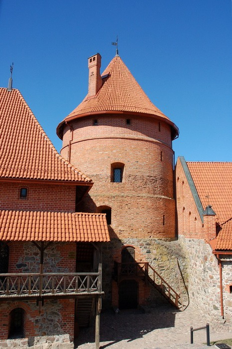 Тракайский замок недалеко от Вильнюса 88021