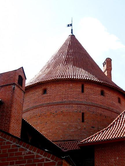 Тракайский замок недалеко от Вильнюса 48536