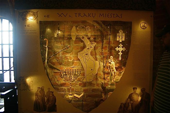 Тракайский замок недалеко от Вильнюса 80997