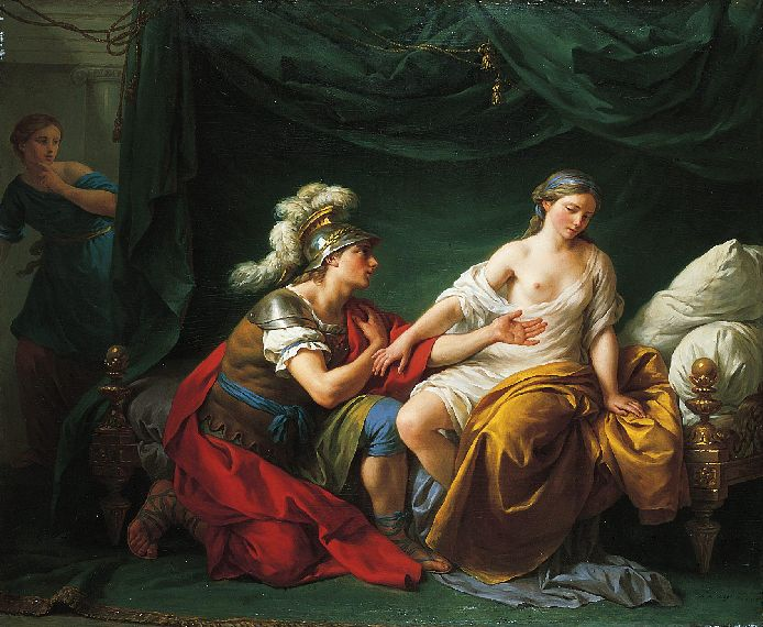 ������� ��� ��� ������� - Alcibiades On His Knees Before His Mistress, C.1781 (694x570, 83Kb)