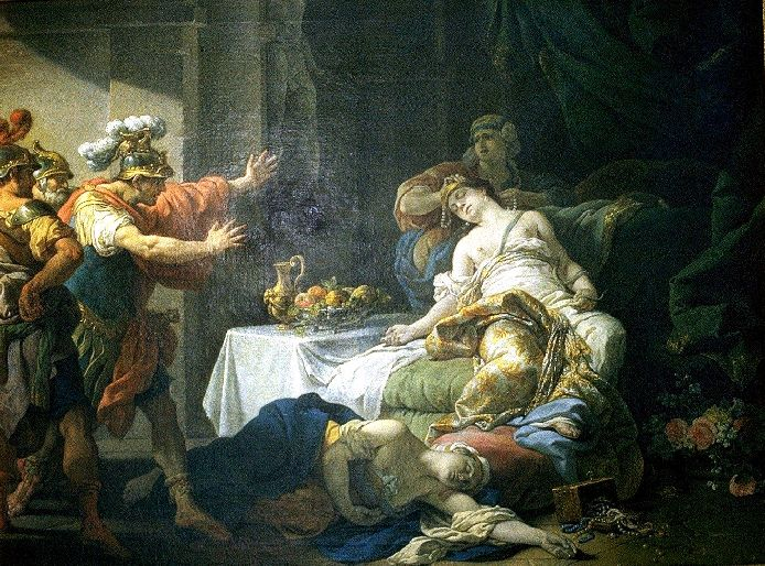������� ��� ��� ������� - Death Of Cleopatra 1755 (694x514, 121Kb)