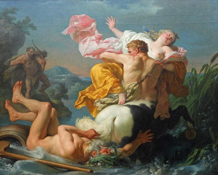 ������� ��� ��� ������� - The Abduction Of Deianeira By The Centaur Nessus, 1755 (694x558, 94Kb)