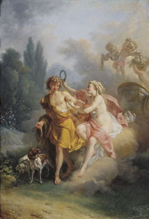 ������� ��� ��� ������� - Venus And Adonis (476x700, 43Kb)