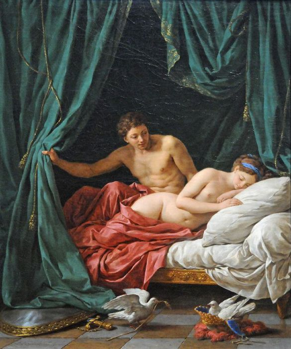 ������� ��� ��� ������� - Venus And Mars, An Allegory Of Peace (585x700, 79Kb)