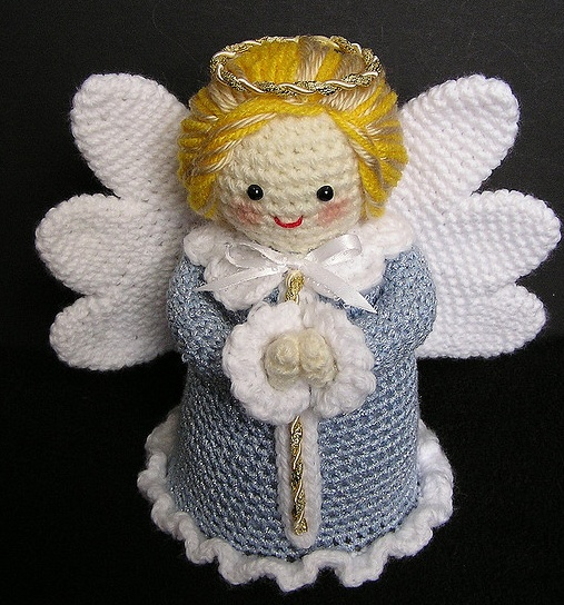 Ангел своими руками вязаный крючком