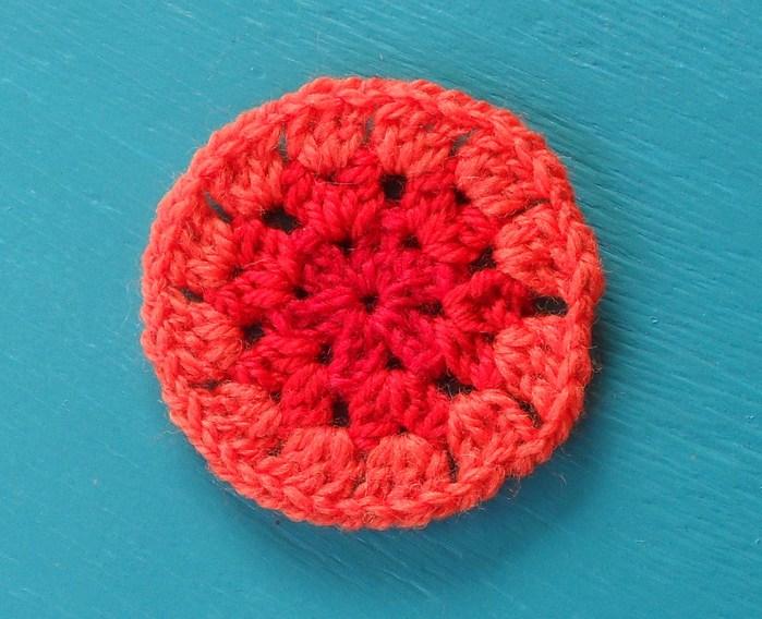 Вязание круглого половика крючком 52