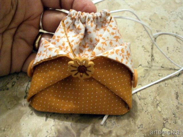 Вязаная сумка спицами Японский узелок Описание
