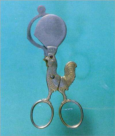 Ножницы для яиц. Франция, 1930 (400x475, 50Kb)