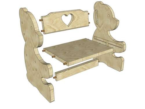 Раскладной стул своими руками фото