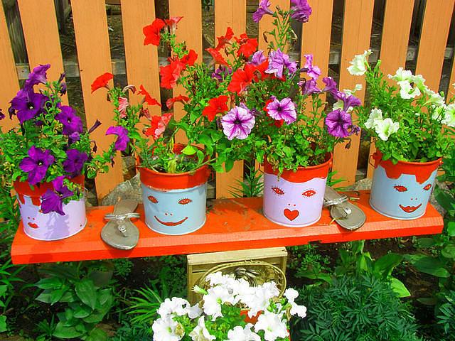 Картинки поделок для сада и огорода своими руками