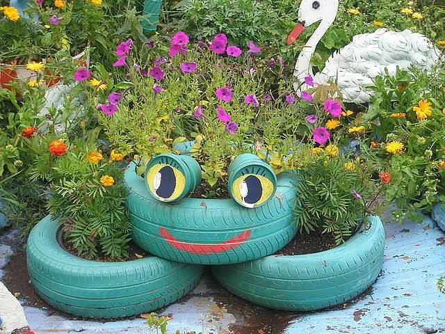 Оформление сада и огород своими руками