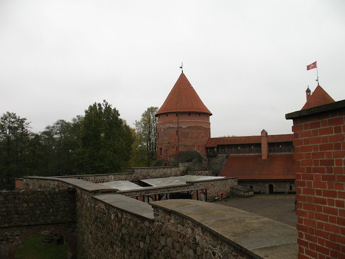 Тракайский замок недалеко от Вильнюса 97288
