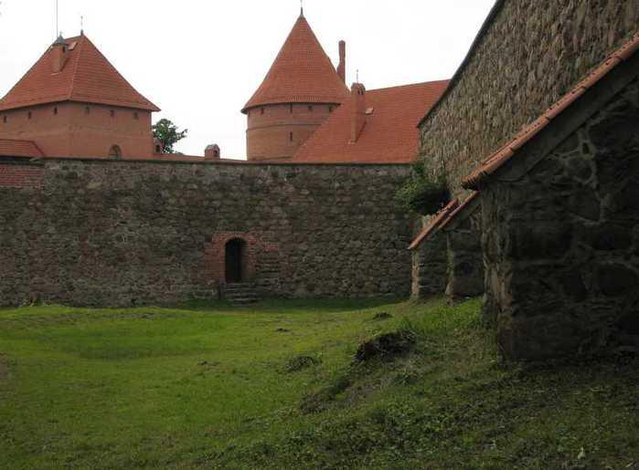 Тракайский замок недалеко от Вильнюса 73430