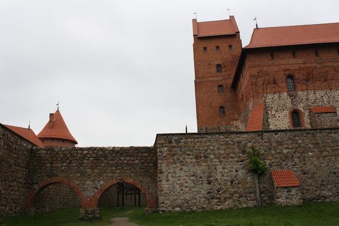 Тракайский замок недалеко от Вильнюса 55800
