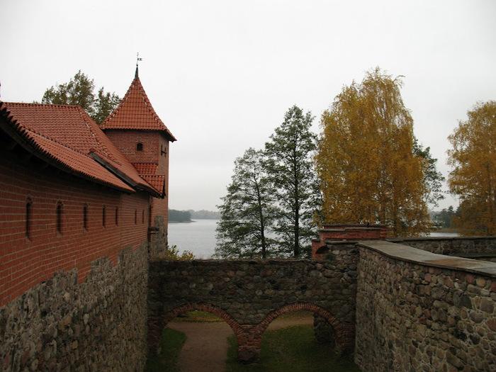 Тракайский замок недалеко от Вильнюса 30150