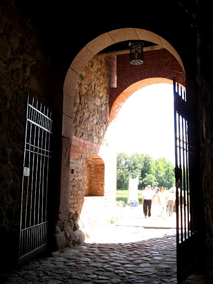 Тракайский замок недалеко от Вильнюса 10787