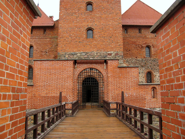 Тракайский замок недалеко от Вильнюса 91489