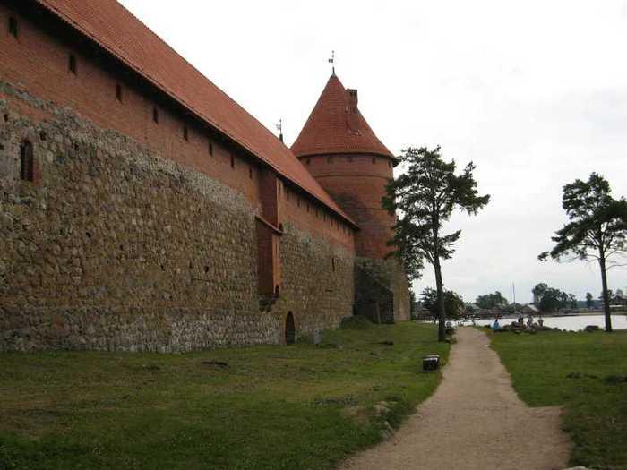Тракайский замок недалеко от Вильнюса 11047