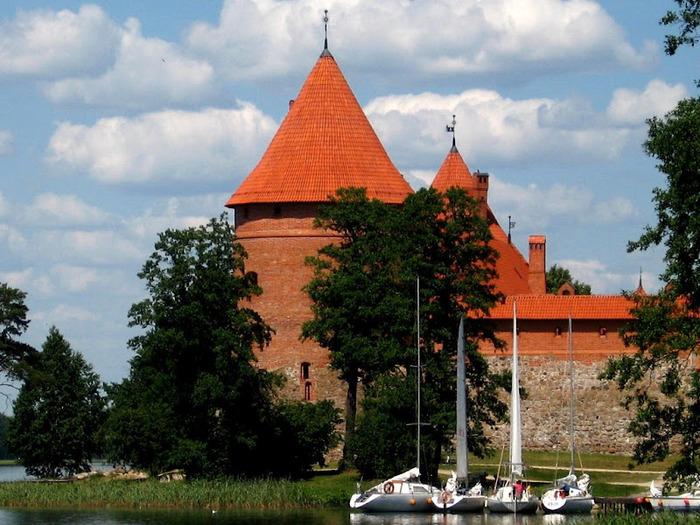 Тракайский замок недалеко от Вильнюса 87624