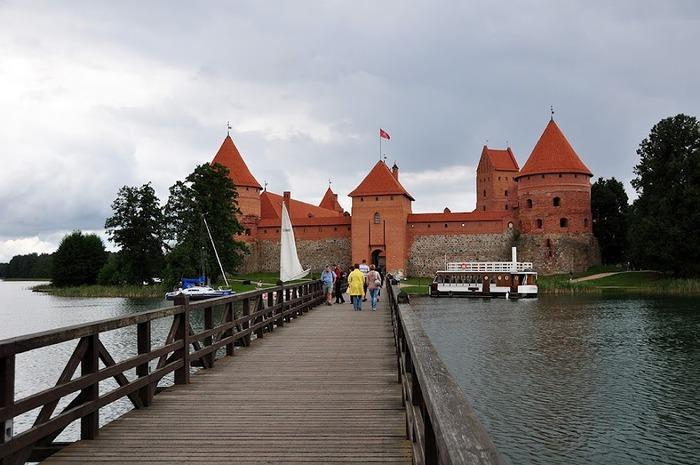 Тракайский замок недалеко от Вильнюса 56948
